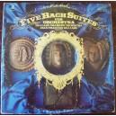 JOHANN SEBASTIAN BACH (FIVE BACH SUITES) LP 12´, CLASICA