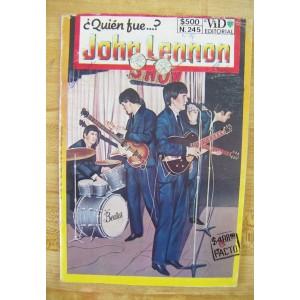 QUIEN FUE JOHN LENNON N°245,HISTORIETA