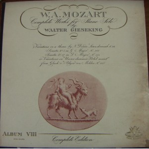 MOZART (COMPLETE WORKS FOR PIANO SOLO ALBUM 8), CLÁSICA-