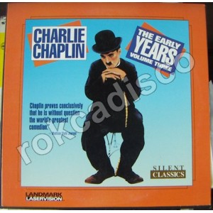 CHARLIE CHAPLIN, THE EARLY YEARS, VOL. 3, DISCO LASSER 12´,