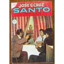 HISTORIETA,SANTO EL ENMASCARADO DE PLATA,EDICIONES JOSÉ G, CRUZ N°712