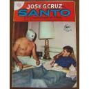 HISTORIETA,SANTO EL ENMASCARADO DE PLATA,EDICIONES JOSÉ G, CRUZ N°637