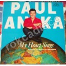 PAUL ANKA, MY HEART SINGS, LP 12´,