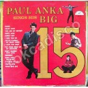 PAUL ANKA, AND HIS BIG 15, LP 12´,