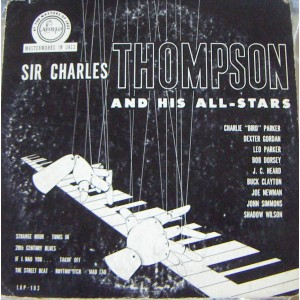 SIR CHARLES THOMPSON AND HIS ALL-STARS