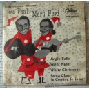 LES PAUL & MARY FORD, CHRISTMAS CHEER, EP 7´, ACTORES QUE CANTAN