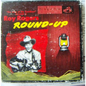 ROY ROGERS, ROUND - UP, EP´S 7´, ACTORES QUE CANTAN