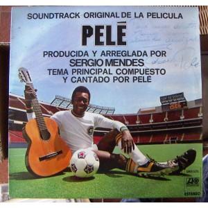 PELÉ, SERGIO MENDES, LP 12´, BANDA SONORA