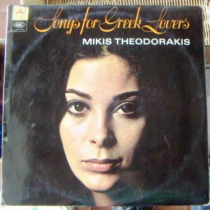 MIKIS THEODORAKIS, SONGS FOR GREEK LOVERS, LP 12´, POP INTER