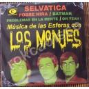LOS MONJES, SELVATICA, LP 10´, ROCK MEXICANO