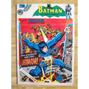 BATMAN N°725 EDITORIAL NOVARO,HISTORIETA
