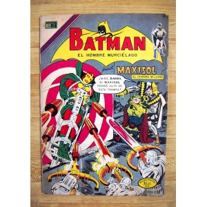 BATMAN N°706,EDITORIAL NOVARO,HISTORIETA