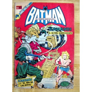 BATMAN N°691,EDITORIAL NOVARO,HISTORIETA
