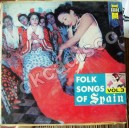 FOLK SONGS OF SPAIN, VOL. 3, LP 12´, FLAMENCO