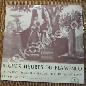 RICHES HEURES DU FLAMENCO, LP 12´, VARIOS, FLAMENCO