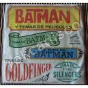 BATMAN, Y TEMAS DE PELICULAS, EP 7´, CINE Y TV
