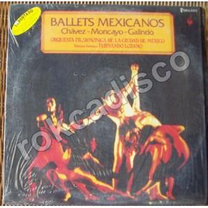 CHÁVEZ, MONCAYO, GALINDO, BALLETS MEXICANOS, LP 12´, BALLET