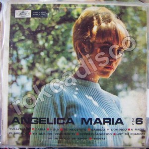 ANGELICA MARIA , VOL 6 LP 12´, ROCK MEXICANO