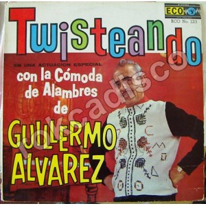 GUILLERMO ALVAREZ, TWISTEANDO, LP 12´, ROCK MEXICANO