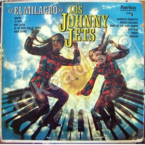 JOHNNY JETS, EL MILAGRO LP 12´, ROCK MEXICANO