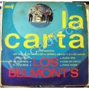 LOS BELMONT´S, LA CARTA, LP 12´, ROCK MEXICANO,